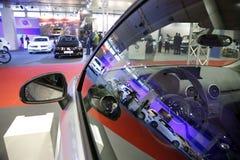 Exposição automóvel internacional em Belgrado Imagem de Stock