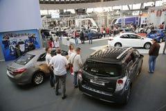 Exposição automóvel internacional em Belgrado Imagens de Stock Royalty Free