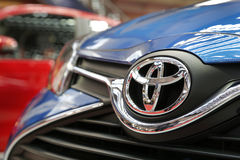 Exposição automóvel internacional em Belgrado Foto de Stock