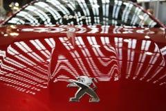 Exposição automóvel internacional em Belgrado Foto de Stock Royalty Free