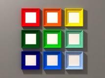 Exposição clássica do frame Imagem de Stock