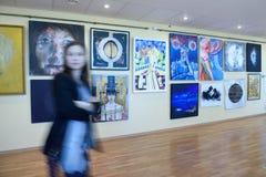 exposição da arte moderna Foto de Stock