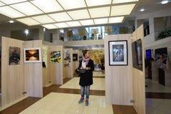 exposição da arte moderna Imagem de Stock Royalty Free