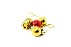 Exposição da bola do Natal para decorar fotografia de stock