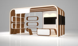 Exposição da cabine Imagens de Stock Royalty Free