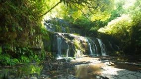 Exposição da cachoeira de Catlins Fotografia de Stock Royalty Free