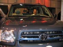 A exposição da feira automóvel em Los Angeles 2005 Foto de Stock Royalty Free