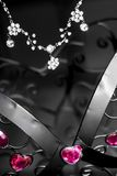 Exposição da joia Foto de Stock