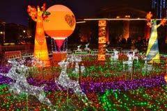 Exposição da lanterna Fotos de Stock Royalty Free