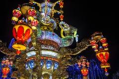 Exposição da lanterna Foto de Stock Royalty Free