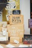 Exposição da livraria em Norwich, Inglaterra Fotografia de Stock