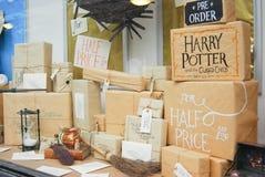 Exposição da livraria em Norwich, Inglaterra Imagem de Stock