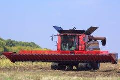 A exposição da maquinaria agrícola na região 24 Septembe de Kiev, 2015 Imagem de Stock