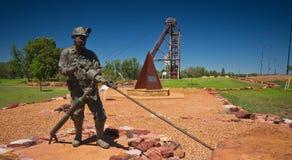 Exposição da mineração de Cobar Imagens de Stock Royalty Free