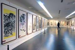 Exposição da pintura Foto de Stock