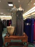 Exposição da tomada do boutique do vestido Imagem de Stock Royalty Free