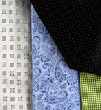 Exposição das gravatas Imagens de Stock