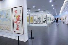 Exposição das pinturas Fotografia de Stock Royalty Free