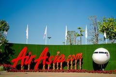 Exposição de AirAsia Imagem de Stock Royalty Free