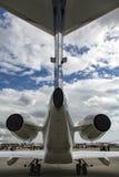 Exposição de Airshow Foto de Stock