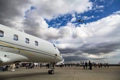 Exposição de Airshow Fotos de Stock Royalty Free