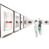 Exposição de arte Imagens de Stock Royalty Free