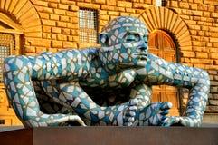 Exposição de arte em Italy Imagem de Stock Royalty Free
