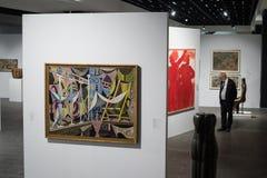 Exposição de arte grega 20 - século 21 Fotografia de Stock Royalty Free
