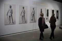 Exposição de arte grega 20 - século 21 Imagem de Stock