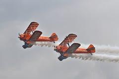 Exposição de Brietling Wingwalkers Fotografia de Stock