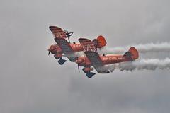 Exposição de Brietling Wingwalkers Fotografia de Stock Royalty Free