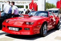 Exposição de carros retros e do vintage Imagem de Stock