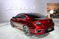 Exposição de Honda na auto mostra 2012 de Chicago fotografia de stock royalty free