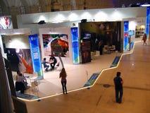 Exposição de Intermuseum em Manegein Moscou fotografia de stock royalty free