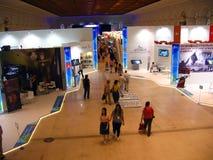 Exposição de Intermuseum em Manegein Moscou imagens de stock