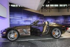 Exposição de Mercedes na auto mostra 2012 de Chicago imagem de stock royalty free