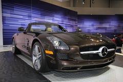 Exposição de Mercedes na auto mostra 2012 de Chicago fotos de stock royalty free