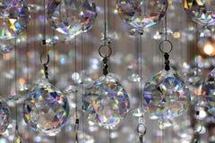 Exposição de vidro bonita do candelabro Fotografia de Stock