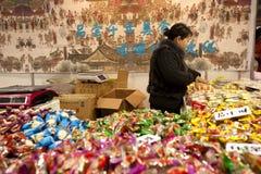 Exposição do alimento do ano do coelho em Chongqing, China Foto de Stock Royalty Free