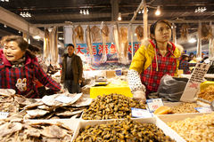Exposição do alimento do ano do coelho em Chongqing, China Imagem de Stock
