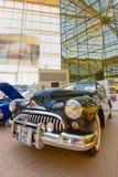 Exposição do carro na mostra de carro clássica de Bucareste Foto de Stock