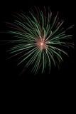 Exposição do fogo de artifício Foto de Stock Royalty Free