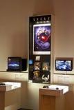Exposição do jogo de vídeo Fotos de Stock