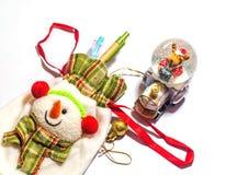 Exposição do saco do Natal Fotografia de Stock
