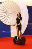 Exposição HELIRUSSIA 2011 Imagem de Stock