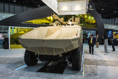 Exposição internacional da defesa em Abu Dhabi Fotografia de Stock Royalty Free