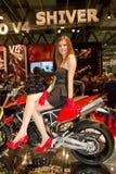 Exposição internacional da motocicleta de EICMA Fotografia de Stock Royalty Free