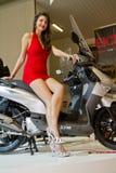 Exposição internacional da motocicleta de EICMA Fotos de Stock