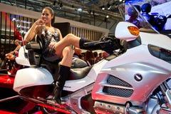 Exposição internacional da motocicleta de EICMA Imagem de Stock