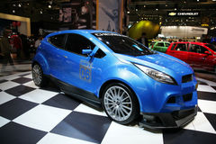 Exposição internacional do automóvel, mostra de motor Fotos de Stock